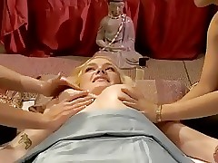 Massage porn clips - lesbian massage seduction